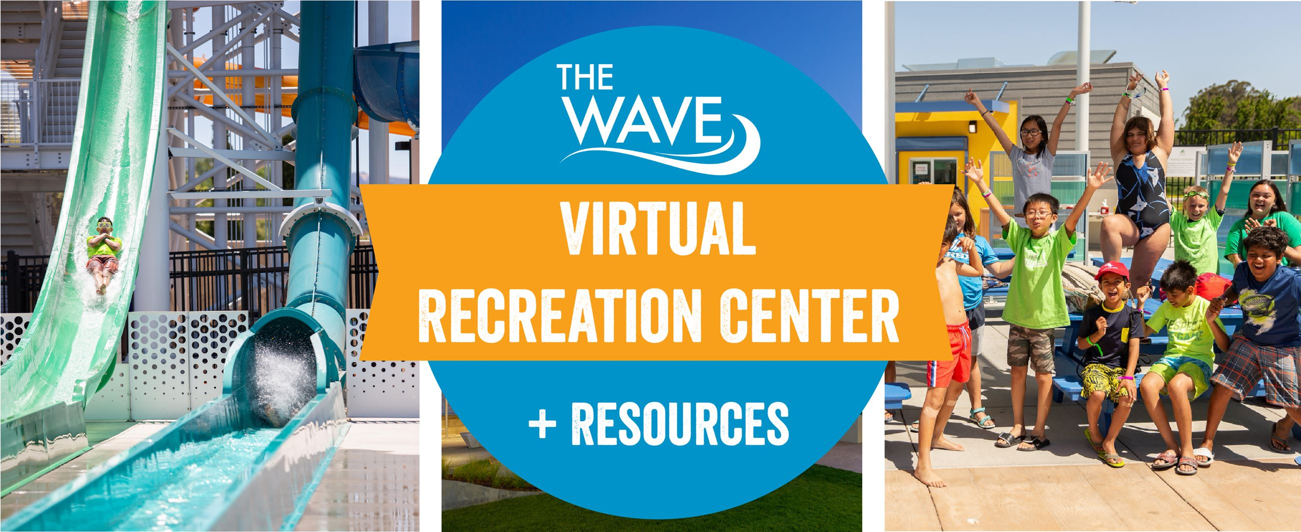 The Wave Virtual Recreational Center Banner